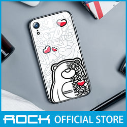 Rock Glass Protection Case for iPhone XR Mechanical Bear RPC1456