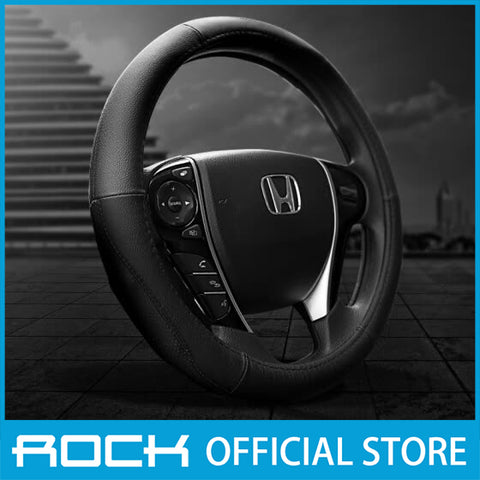 Rock Car Steering Wheel Cover Black RPH0859