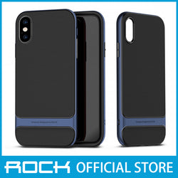 Rock Royce Series Protective Shell Case for iPhone X/XS Blue RPC1433