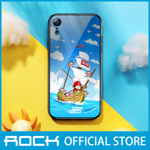 Rock Glass Protection Case for iPhone XR Captain Bear RPC1456