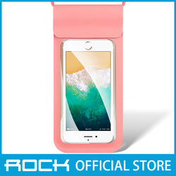 Rock Mobile Phone Waterproof Bag 6'' Pink RPH0868