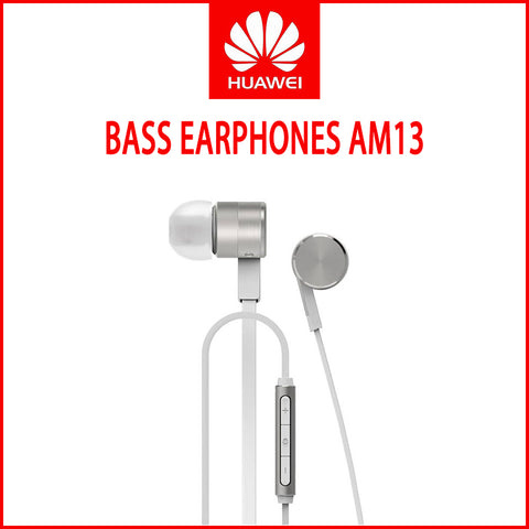 Huawei AM13 Bass Earphones Silver