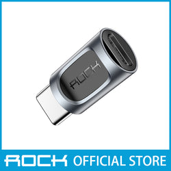 Rock Micro USB to Type-C Adapter Black RCB0608
