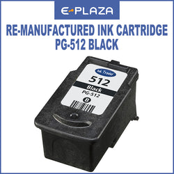 Canon Re-manufactured Ink Cartridges PG-512 / PG 512 Black