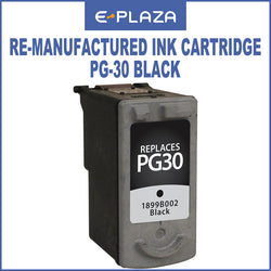 Canon Re-manufactured Ink Cartridges PG-30 / PG 30 Black