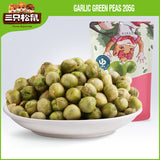 Three Squirrels Green Peas Garlic 三只松鼠 蒜香豌豆 205g