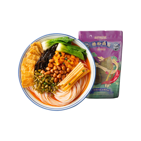 Three Squirrels River Snails Rice Noodle 300g