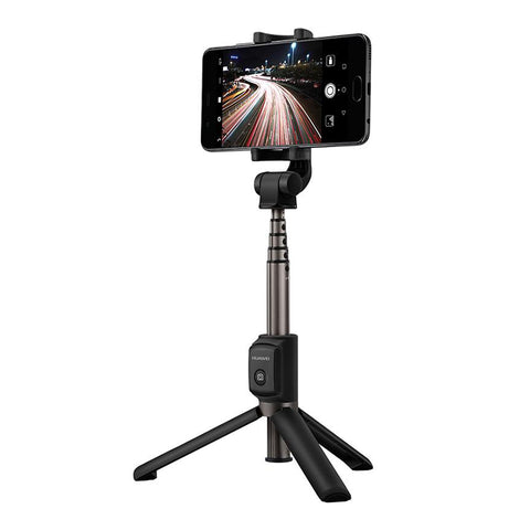 Huawei AF15 Bluetooth Tripod Stand Selfie Stick with Remote Control Black