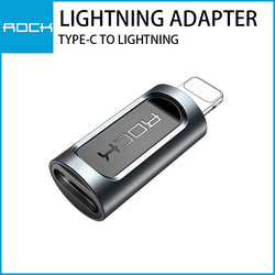 Rock Type-C to Lightning Adapter Black RCB0605