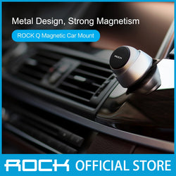 Rock AutoBot Q Magnetic Car Mount Silver ABM0007