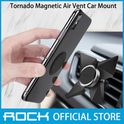 Rock Tornado Magnetic Air Vent Car Mount Black RPH0856