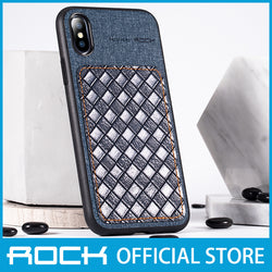 Rock Origin Series Protection Case for iPhone XS/X Denim Blue RPC1452