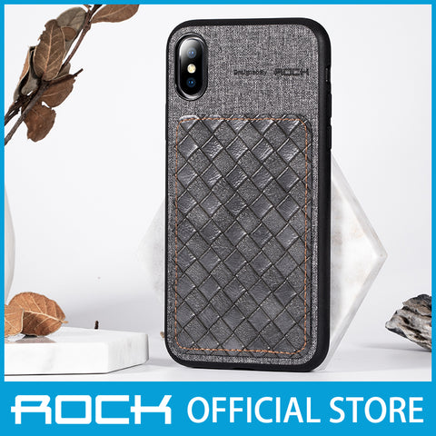 Rock Origin Series Protection Case for iPhone XS/X Gray RPC1452