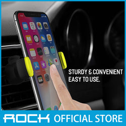 Rock Deluxe Car Vent Phone Holder II Green
