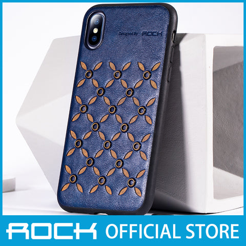 Rock Origin Series Protection Case for iPhone XS Max Lake Blue RPC1454