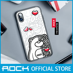 Rock Glass Protection Case for iPhone XS Max Mechanical Bear RPC1457