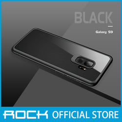 Rock Clarity Series Protection Case for Galaxy S9 Black RPC1389