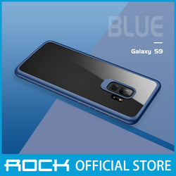 Rock Clarity Series Protection Case for Galaxy S9 Blue RPC1389