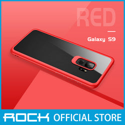 Rock Clarity Series Protection Case for Galaxy S9 Red RPC1389