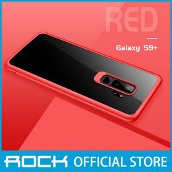 Rock Clarity Series Protection Case for Galaxy S9 Plus Red RPC1399