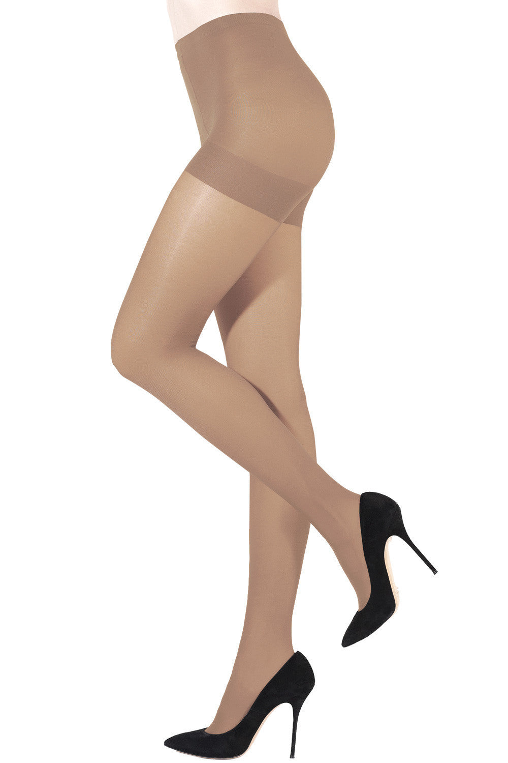 Sheer Tights 3 Dim With Control Top