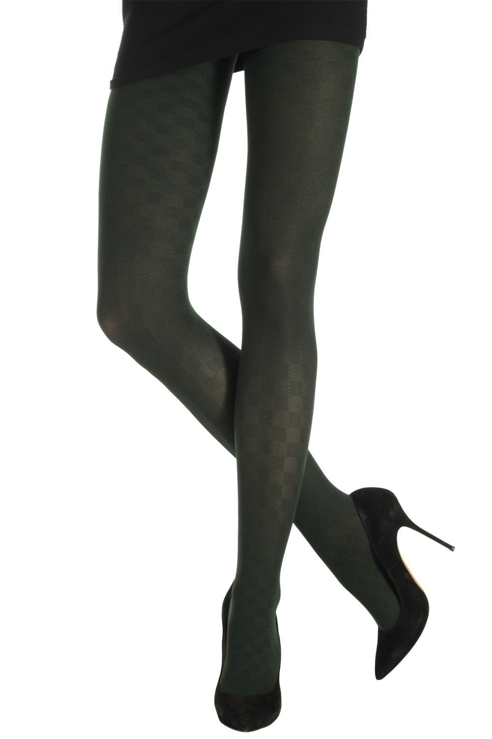 2 Col Interlaced Threads Tights