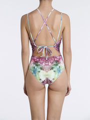 Strappy One Piece Electric