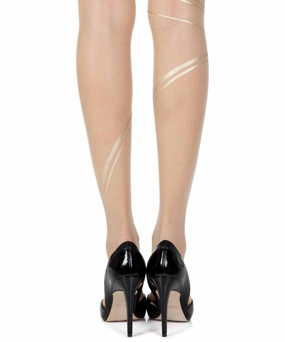 Gold Fever Skin Sheer Tights