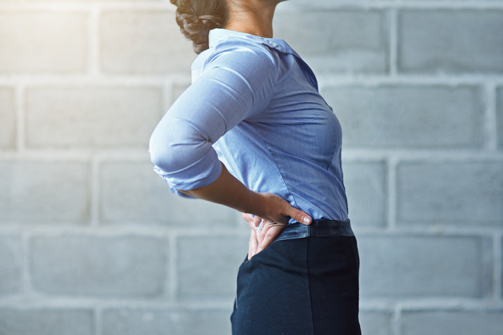 Prevent back pain at work