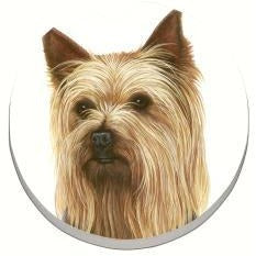 Yorkshire Terrier Car Coaster