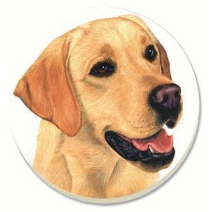 Yellow Lab Coasters Set of 4