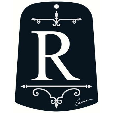 R Monogram Sail for Windchime