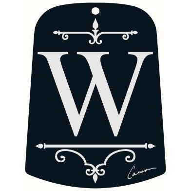 W Monogram Sail for Windchime