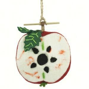Apple Felt Birdhouse