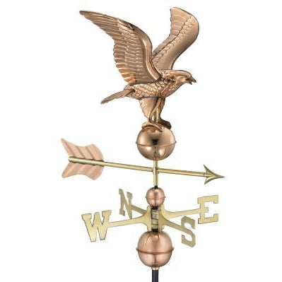 American Eagle Weathervane Polished Copper + FRT