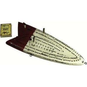 Fish Lure Cribbage Board