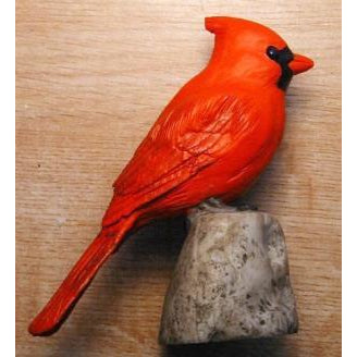 Cardinal Table Piece