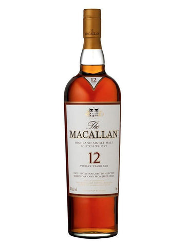 Macallan 12 Years Sherry Oak Matured (700ml)