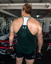 Bottle Green and White Classic Stringer
