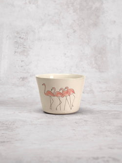 Tasse à thé Flamingo Group-Three Seven Paris- Ceramic Plates, Platters, Bowls, Coffee Cups. Animal Designs, Zebra, Flamingo, Elephant. Graphic Designs and more.