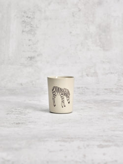 Petite timbale Zebra Profil-TIMBALES-Three Seven Paris- Ceramic Plates, Platters, Bowls, Coffee Cups. Animal Designs, Zebra, Flamingo, Elephant. Graphic Designs and more.