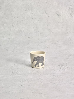 Photophore Elephant Profil-PHOTOPHORES-Three Seven Paris- Ceramic Plates, Platters, Bowls, Coffee Cups. Animal Designs, Zebra, Flamingo, Elephant. Graphic Designs and more.
