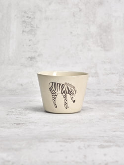 Tasse à thé Zebra Profil-TASSES-Three Seven Paris- Ceramic Plates, Platters, Bowls, Coffee Cups. Animal Designs, Zebra, Flamingo, Elephant. Graphic Designs and more.