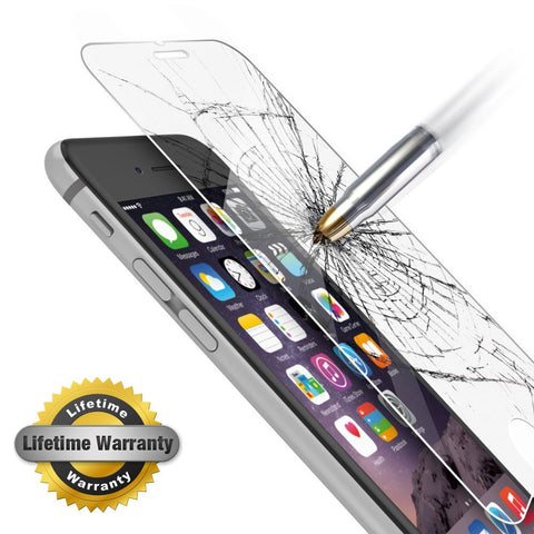Tempered Glass Screen Protector For iPhone 7, Plus, iPhone 6/6s, 5s [3D Touch] 0.2mm