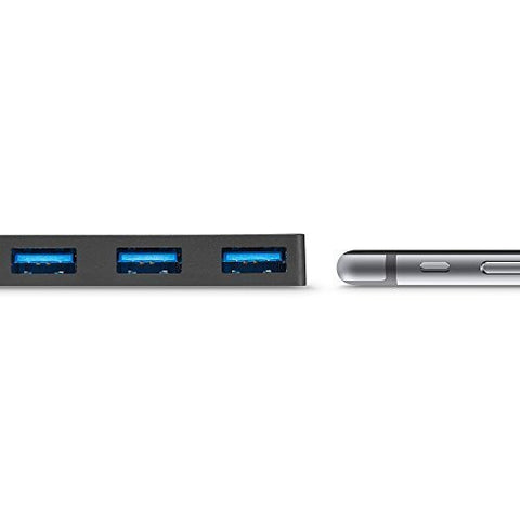 Anker 4-Port USB 3.0 Ultra Slim Data Hub for Mac, PC, USB Flash Drives and Other Devices