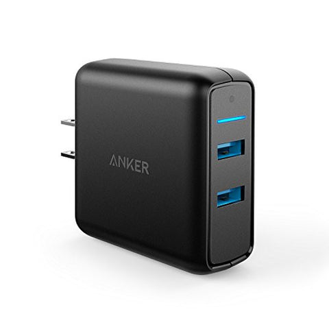 Anker Quick Charge 3.0 39W Dual USB Wall Charger, PowerPort Speed