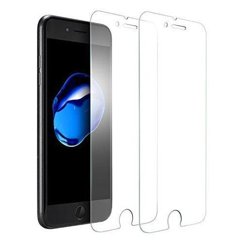 iPhone 7 Plus Screen Protector - Anker [2 Pack] GlassGuard Premium Tempered Glass Screen Protector, with Double Defense Technology for Apple iPhone 7 Plus (5.5 inch) - [Upgraded]