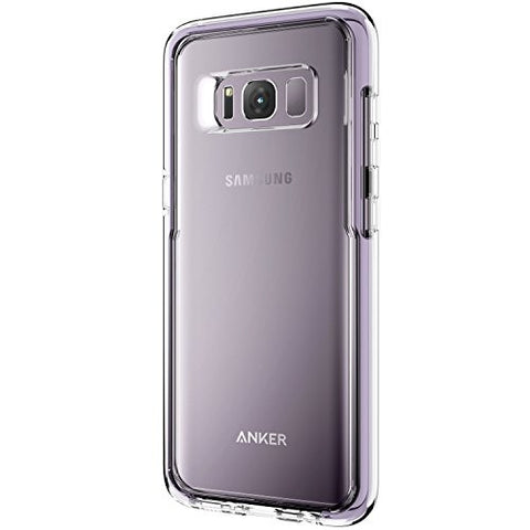 Samsung Galaxy S8 Case, Anker Ice-Case Absorb, Transparent Clear Protective Case for Galaxy S8 with Superior Defense and Shock Protection