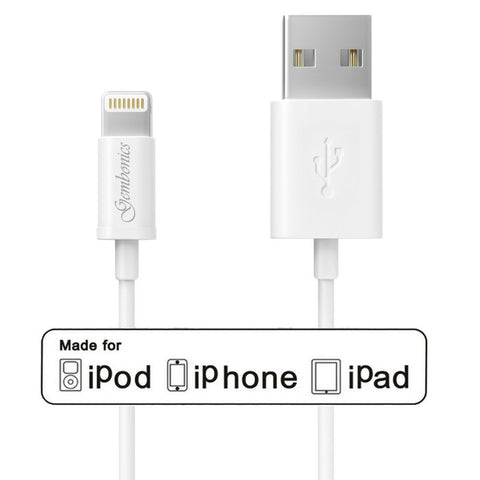 Gembonics 8 Pin Lightning to USB Cable - 3-Feet