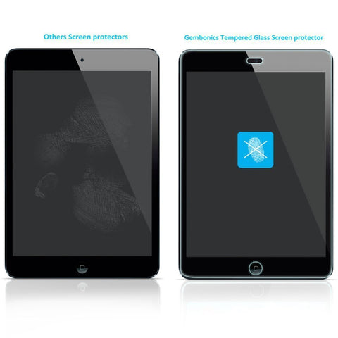 Gembonics 9H Hardness Crystal Clear Tempered Glass Screen Protector for Apple iPad